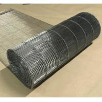 Quality Stainless Steel Flat Flex Wire Mesh Conveyor Belt For Drying And Cooling for sale