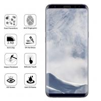 Quality Tempered Glass Curved Edge Screen Protector Case Friendly For Samsung Galaxy S8 for sale