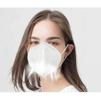 Quality Disposable Non Woven KN95 Face Mask Foldable For Dusty Operations for sale