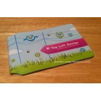 Customized Full Color Plastic Card Holder Artificial Leather Card Wallet