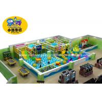 Quality Colorful Soft Play Centre Equipment For Games European Standard Anti - Crack for sale