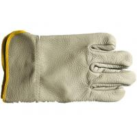 Quality Cowhide Material Beekeeping Gloves Without Cuff And With Cuff For Beekeepers for sale