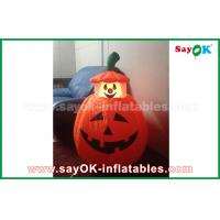 Quality Halloween LED light Inflatable Holiday Decorations , Human skeleton Inflatable Cartoon Characters for sale