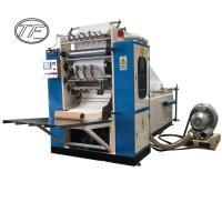 Buy TF-FTM 2L-6L high performance automatic facial tissue paper making machine v fold facial tissue machine at wholesale prices