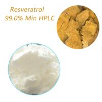 Quality Dietary Supplements Resveratrol 99.0% HPLC Preventing Age-related Disorders for sale