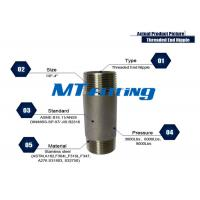 Astm a f l forged high pressure stainless steel pipe