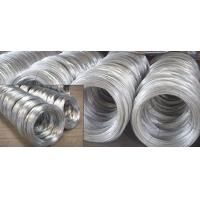 Quality SAE1006B, SAE1008B, SAE1010B BWG Hot Dipped Galvanized Wire Rod of Mild Steel Products for sale