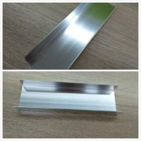 Quality Silver Brightness Machanically Polished Aluminum Profiles Highly Wear Resistance for sale