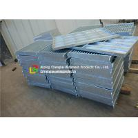 Quality Composite Steel Grating Panels , Corridor / Stairs Metal Grate Cover for sale