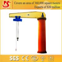 360 degree rotating floor mounted 1-16 ton small crane for sale