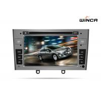 Quality PEUGEOT 408 DOUBLE DIN CAR DVD WITH GPS WITH A8 CHIPSET DUAL CORE 1080P V-20 DISC WIFI for sale