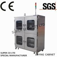 Quality Electronic Stainless Nitrogen Dry Cabinet with towder light, anti-humidity and dehumidification for sale