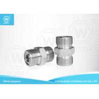 Buy cheap Carbon Steel Hydraulic Male ORFS Adapter , Thread O Ring Pipe Fittings from wholesalers