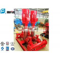 Buy cheap NFPA20 Fire Pump Set With Vertical Multistage Electric Motor Driven , Jockey Pump Set from wholesalers