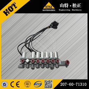 Quality 20Y-62-41112 for komatsu main valve bracket , stock and new komatsu parts for sale