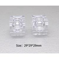 Buy 0.16ounce  5ml plastic clear crystal eye shadow box eye shadow container eye shadow jar at wholesale prices