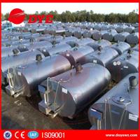 Quality Large Refrigerated Milk Cooling Tank  Milk Transpration Tank CE Approved for sale
