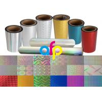 Quality Colorful / Transparent Laser Holographic Film With Patterns 180 - 1880mm Width for sale