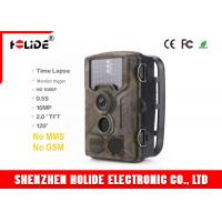 Quality Wildlife Trail Hunting Camera Full HD Night Version 16MP 1080P IR Trail Type for sale