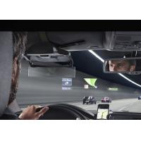 Quality Adjustable brightness LED HUD Head Up Display System Show Fuel Consumption Engine Speed for sale