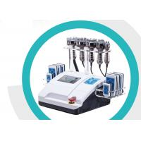 Quality Rf Cavitation Lipo Laser Slimming Machine Smooth Fatigue With 8 Inch Touch Screen for sale