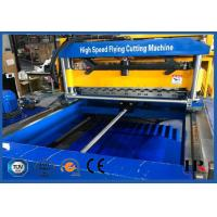 Quality Glazed Molding Roof Roll Forming Machine / Concrete Wall Tile Making Machine With CE ISO Certificate for sale