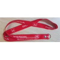 Quality Full color print car brand logo promotional key lanyards with rivet, for sale