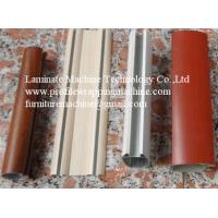 MDF skirting board cold glue profile wrapping machine for sale