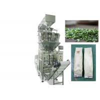 Quality Tea Bag Multihead Weigher Packing Machine 30 - 70 Bags / Min High Speed for sale