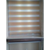 Quality Linen roller blinds /Linen zebra blinds /Linen blinds fabric for sale