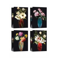 Buy cheap Customized Paper Bags with flower patterns for daily shopping from wholesalers