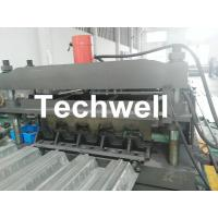 Quality Steel Structure Floor Deck Cold Roll Forming Machine For Galvanized Steel Sheet for sale