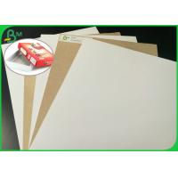 Quality FSC Certificates Coated Duplex Board With Back Grey Free Sample for sale