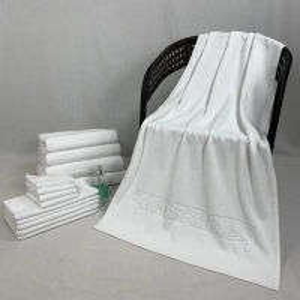 Quality Jacquard Azo Free Hotel Quality Towels for sale