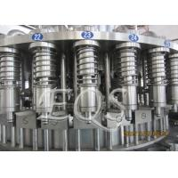 Quality Pet Bottle Tea Hot Filling Machine 12000BPH , 3 in 1 Washing Filling Capping Machine for sale