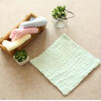 Quality Baby face towel 6 layer 100% cotton washing gauze baby bibs handkerchief 30x30cm for sale