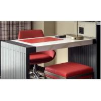 Buy Commercial Hotel Luxury Furniture , Apartment Hotel Bedroom Furniture Drak Color at wholesale prices