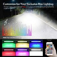Buy Multi Color LED Car Light Bar 22 Inch 120W Bluetooth App / Wiring Harness Control at wholesale prices