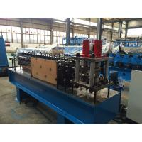 China U Shaped Z Purlin Roll Forming Machine 5.5kw Servo Motor , Stainless Steel Material on sale
