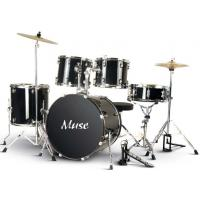 Buy Muse PVC Complete 5 Piece Junior Drum Set With Cymbal / Throne A525P-704 at wholesale prices