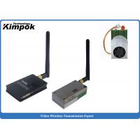 Quality 5.8Ghz FPV / UAV Image Sender 1200mW Stable Wireless Video Link 1000 ~ 2500m for sale