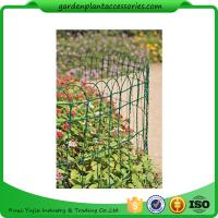"Quality Economical Garden Plant Accessories - Dark Green  Mesh Steel Wire Fencing PVC-coated 1/16"" wire  All heights are 32'-9"" for sale"