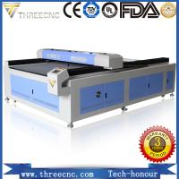 Quality High precision high speed laser cutting machine for nonmetal material TL1325-100W. THREECNC for sale