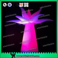 Quality 3M Festival Events Hotel Decoration Inflatable Flower Tree With LED Light for sale