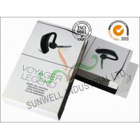 Buy Smart Headset Paper Packaging Box , Foldable Cardboard Boxes Packaging at wholesale prices
