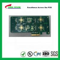 Quality 4L Fr4 IMMERSION GOLD + GOLD FINGER Multilayer PCB Printed Circuit Board for sale
