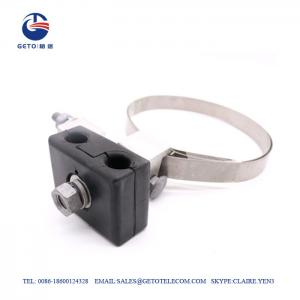 Quality OPGW Aluminum 17mm ADSS Tower Pole Down Lead Clamp for sale