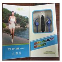 Quality Compact Design Wireless Bluetooth Earphones , Wireless Noise Cancelling Earbuds for sale
