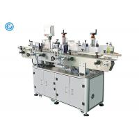 Quality PLC Controlprint Apply Labeling Systems Front And Back Automatic Labeling Machine With PET Glass Bottles for sale