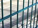 Quality Double Loop Wire Fencing , Double Wire Mesh Fence Powder Coated For Boundary for sale